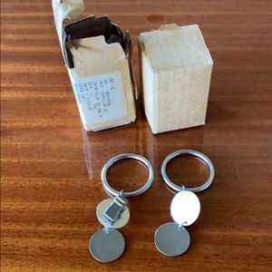 Lot of 11 West Elm Curtain Clips